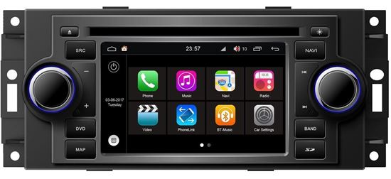| Navigatie chrysler 300 cc dvd carkit android 8.1.1 usb sd DAB+