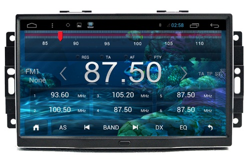 Chrysler 300C radio navigatie 9 inch carkit ANDROID 8 USB DAB+ MET CARPLAY