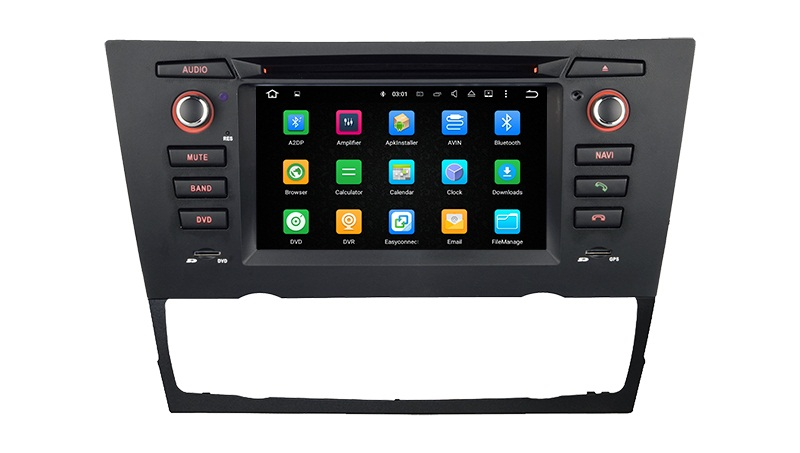 | Navigatie BMW E90 3 serie 2005-2011 dvd carkit android 8 usb dab+