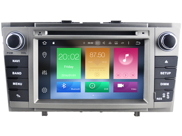 Toyota avensis vanaf 2009 navigatie dvd carkit android 9 dvd usb dab+
