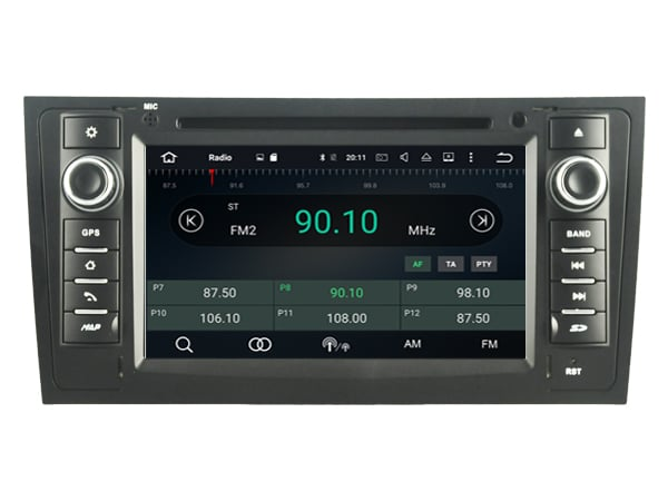 Audi A6 1997-2004  navigatie dvd carkit android 9 dab+ 32gb