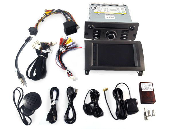 Navigatie Peugeot 407 2004-2011 dvd carkit usb android 9 DAB+ 64GB