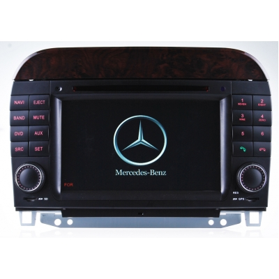 | Mercedes S W220 radio navigatie bluetooth android 8.1 usb DAB+