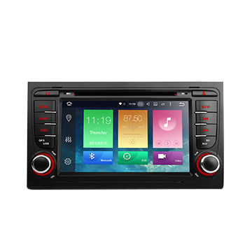 | Navigatie AUDI A4 dvd carkit android 8.1.1 Octacore 32 GB DAB+