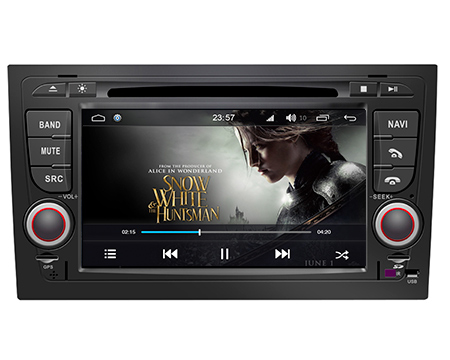 | Audi A4 2002-2008 navigatie dvd carkit android 8.1 32gb octacore DAB+