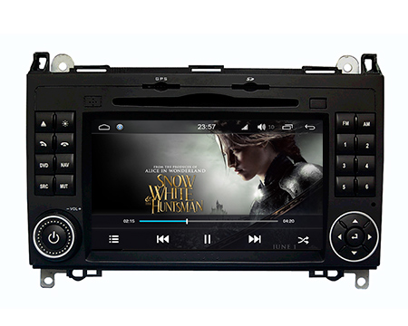 | Mercedes Vito navigatie dvd carkit android 8.1.1 octacore 32GB DAB+