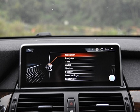 | BMW X5 E70 X6 E71 10,25inch navigatie android 7.1 wifi USB overname iDrive
