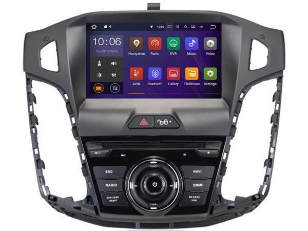 | Ford focus  2011-2015 Navigatie dvd carkit usb android 8 dab+