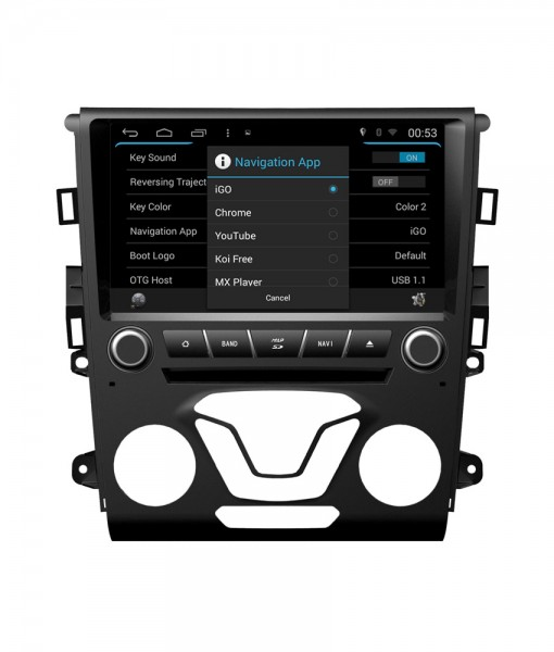 | Ford mondeo >2013 navigatie dvd android 4.4.4 quadcore 16GB