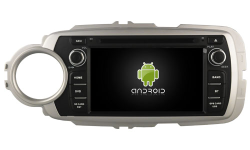 | Navigatie toyota yaris dvd carkit android  8.1.1 usb dab+