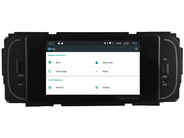 | Jeep / Chrysler  (1999-2007) navigatie carkit android DAB+