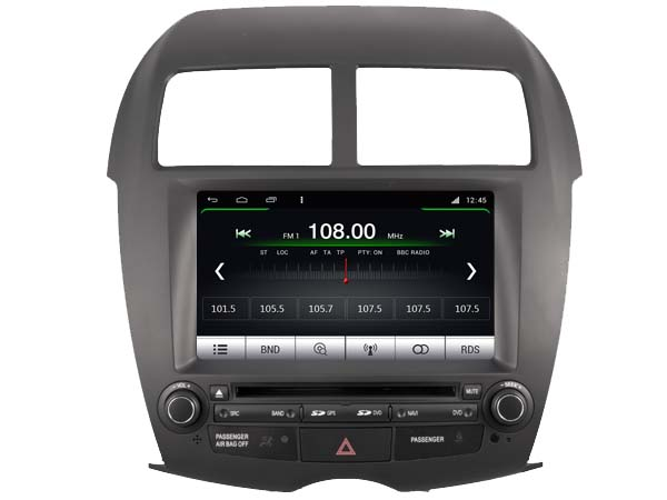 mitsubishi asx 2010 heden radio navigatie 8 inch octacore. Black Bedroom Furniture Sets. Home Design Ideas