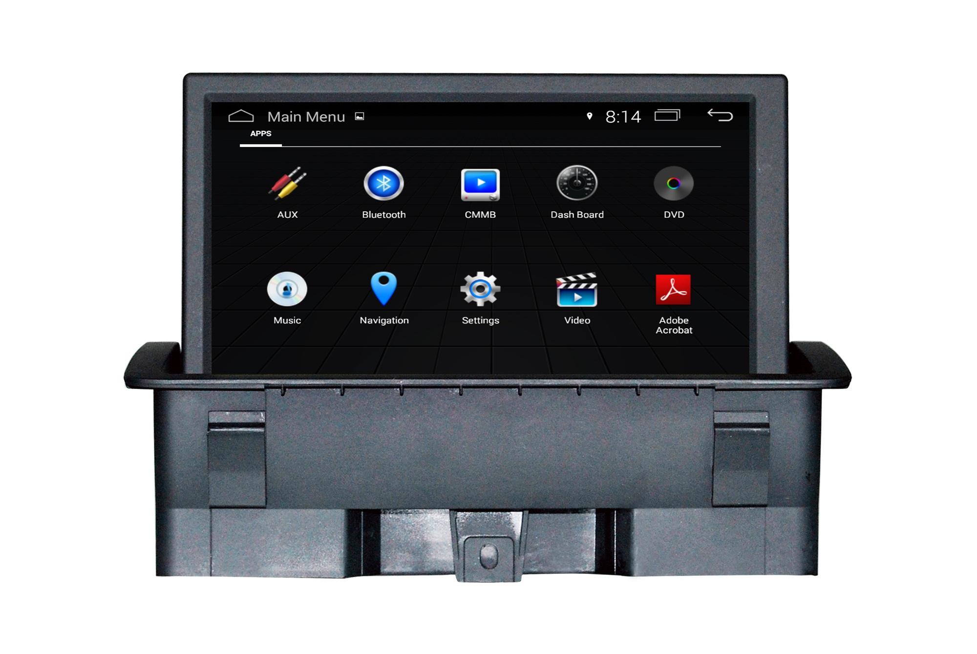 Autoradio Audi A1 : audi a1 autoradio navigatie android usb 16gb dab ~ Voncanada.com Idées de Décoration