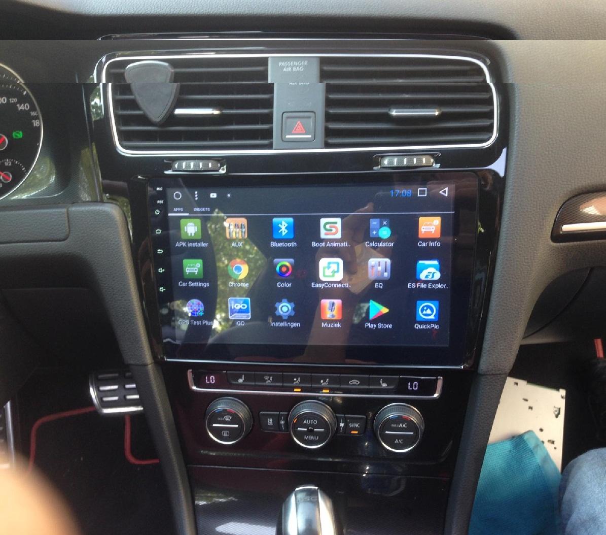 Betere Geschikt voor VW Golf 7 navigatie 10.1 inch carkit usb Android 8 DC-01