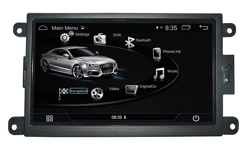 Audi A5 2007-2015 navigatie carkit android 9 dab+ 32GB