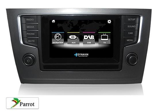 Spiksplinternieuw Volkswagen golf 7 navigatie uitbreiding voor origineel scherm met TMC ON-03