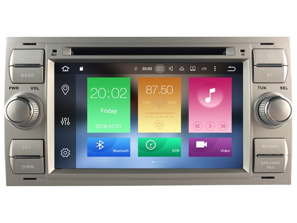 | Ford Focus tm 2007 navigatie dvd carkit android 8 usb 32GB DAB+