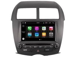 Mitsubishi ASX 2010-heden radio navigatie 8 inch octacore Wifi ANDROID 8 dab+ 32gb