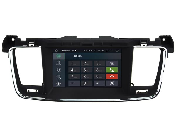 | Navigatie peugeot 508 dvd carkit android 8.1.1 dvd usb dab+