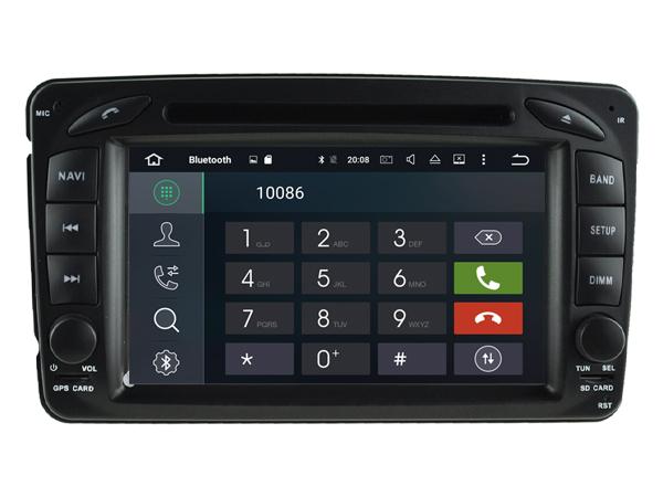 Mercedes c w203 klasse navigatie dvd carkit android 6 0 1 for Mercedes benz wifi hotspot