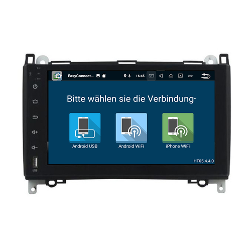 Mercedes viano 2006-2018 navigatie 10 inch carkit android 8 32GB DAB+