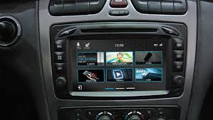 Mercedes CLK W209 2002-2006 navigatie dvd parrot usb tmc android auto apple carplay dab+