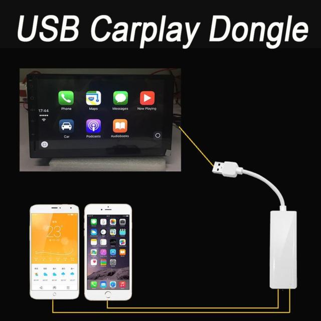 Apple carplay en android auto usb dongel iPhone voor Android navigatie systemen