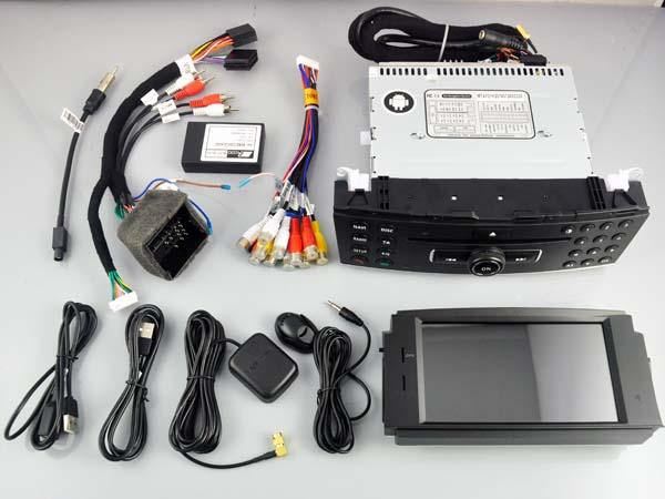 mercedes c w204 klasse navigatie dvd carkit android 8 1 1. Black Bedroom Furniture Sets. Home Design Ideas