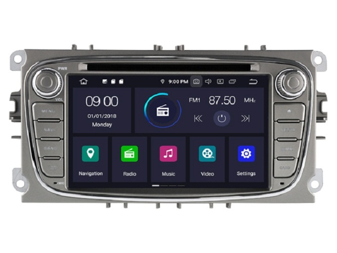 Ford S Max 2007-2012 navigatie dvd carkit android 10 usb 64GB DAB+