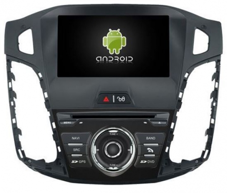 | Ford focus 2011-2015 navigatie 8 inch octacore Wifi ANDROID 8.1.1 dab+ 32gb