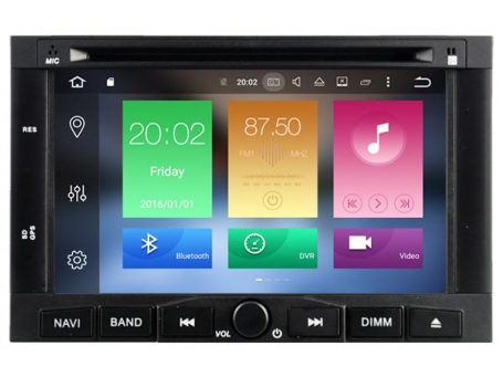 Navigatie peugeot 5008 dvd carkit android  6.0.1 dvd usb dab+