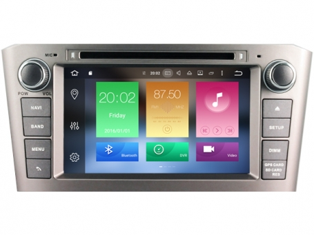 Navigatie toyota avensis tot 2009 dvd carkit android 8.1.1 dvd usb dab+