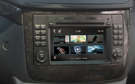 Mercedes viano 2006-2018 navigatie dvd Parrot carkit  apple carplay android auto DAB+ TMC