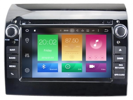 Navigatie fiat ducato dvd carkit android 8 dvd usb dab+