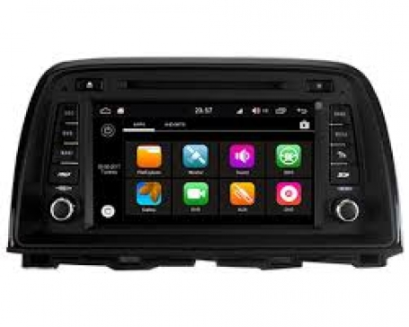 Mazda CX-5 radio navigatie bluetooth dvd android 8.1 usb dab+