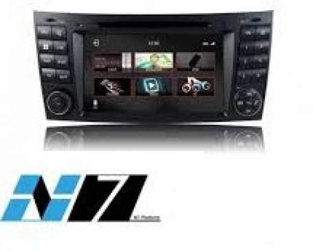 Mercedes CLS 2004-2010 navigatie dvd Parrot Carplay Android Auto DAB+