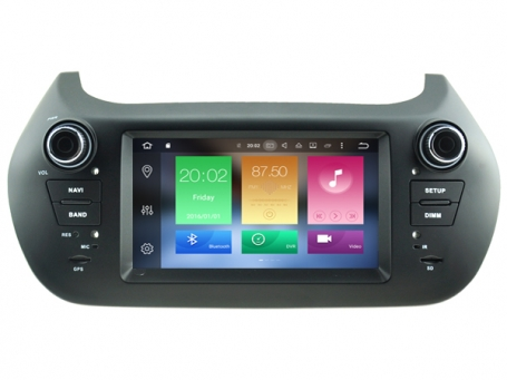 Navigatie fiat fiorino dvd carkit android  8.1 dvd usb dab+