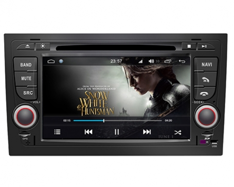 Audi A4 2002-2008 navigatie dvd carkit android 8 octacore DAB+ 32GB