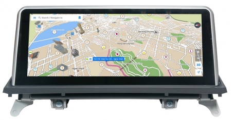 BMW X5 E70 X6 E71 10,25inch navigatie android 4.4 wifi USB overname iDrive