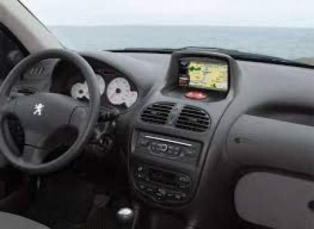 | Peugeot 206 navigatie S160 A9 Cortex 3G Wifi ANDROID 4.4.4 16GB