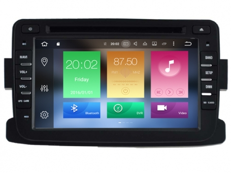 Renault Duster radio navigatie wifi Android 6.0 DAB+
