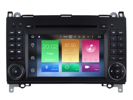 Mercedes sprinter navigatie dvd carkit android 8 usb 32gb octacore dab+
