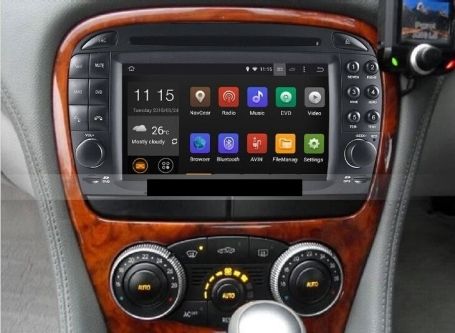 Mercedes SL radio navigatie bluetooth android 5.1.1 wifi 16GB