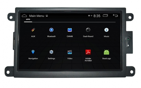 Audi A4  navigatie dvd carkit ANDROID 4.4.4 16GB DAB+