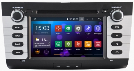 Suzuki Swift 2004-2009 radio navigatie  cortex Android 7.1.1dab+