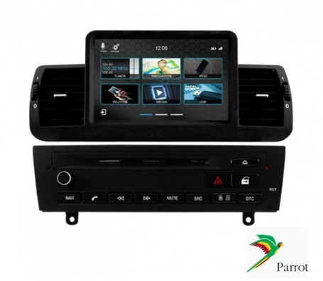 BMW Navigatie 1 serie 2004-2014 dvd Parrot carkit usb apple carplay android auto OBC TMC