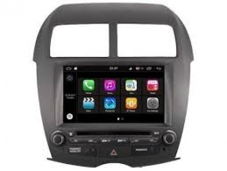 Mitsubishi ASX 2010-heden radio navigatie 8 inch octacore Wifi ANDROID 8.1.1 dab+ 32gb