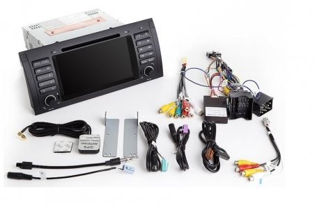 BMW E39 radio navigatie android 10 carkit usb 64GB