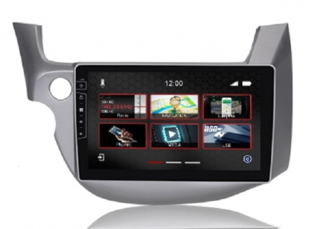 Navigatie honda fit 2008-2014  parrot carkit overname boordcomputer TMC DAB+ Carplay