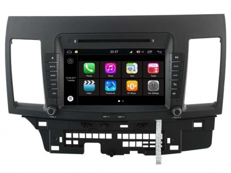 Mitsubishi lancer radio navigatie 8 inch octacore Wifi ANDROID 8 dab+ 32gb